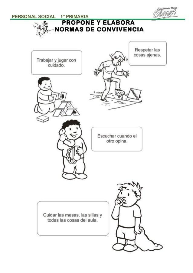 Resultado de imagen para actividades para trabajar las normas escolares en segundo grado