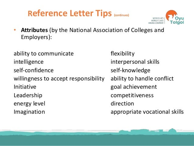 24. Reference Letter ...