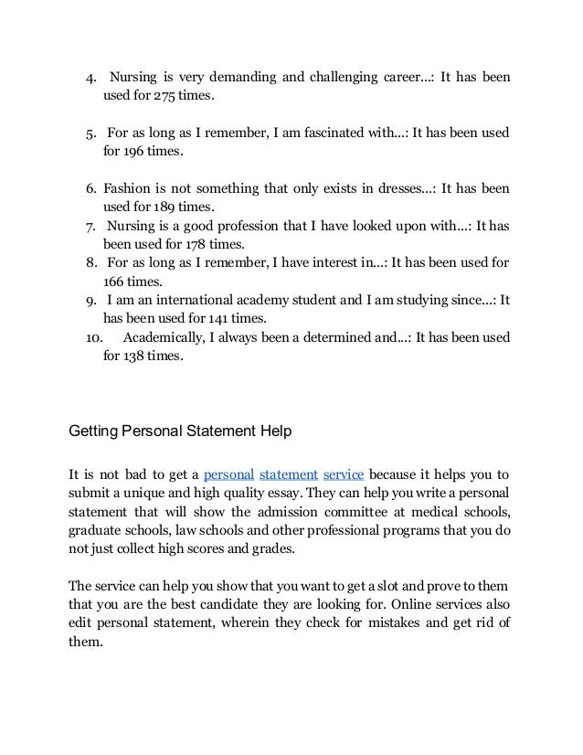 personal statement who am i Personal statement examples 'in conclusion i would like to say that i am really looking forward to the personal and academic challenges that studying at your.