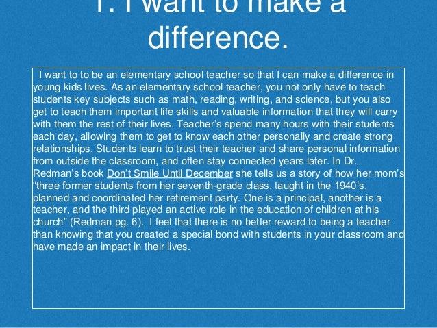 Personal Statement Power Point Slide 2