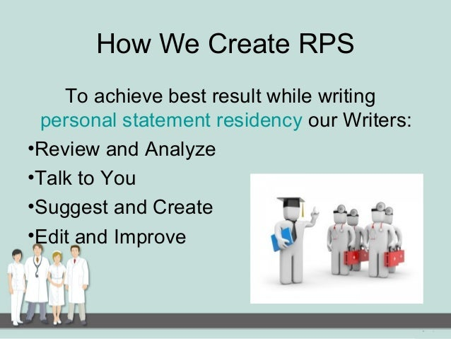 how to write a pharmacy residency personal statement