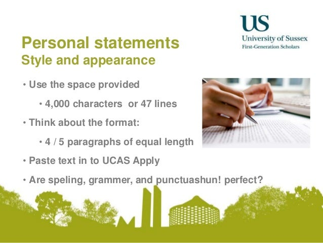 perfect personal statement for university Use the personal statement writing service and ace the what personal qualities which a college or faculty shares do make sure your grammar is perfect.