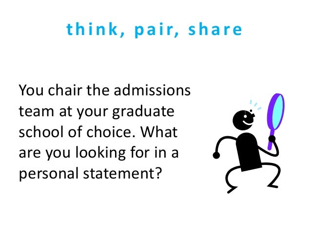 Graduate School Personal Statement Examples