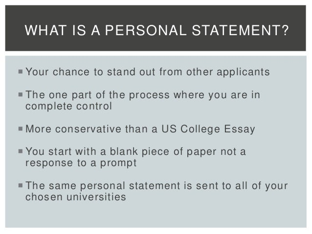 What Makes a Personal Statement Stand Out    YouTube Former Admissions Officer Shares How MBA Applicants Can Stand Out In Their Essays
