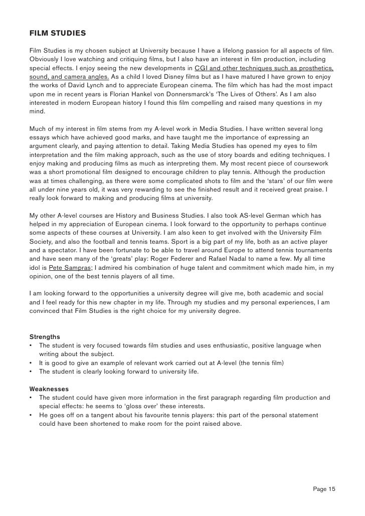 animal management personal statement