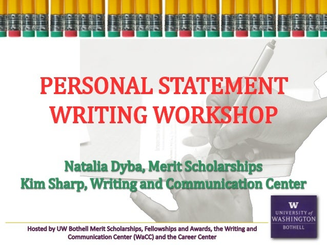 personal statement writing workshop Are you writing your graduate application statement do you want it to be the best possible sample of your writing are you looking for some ideas for getting started .