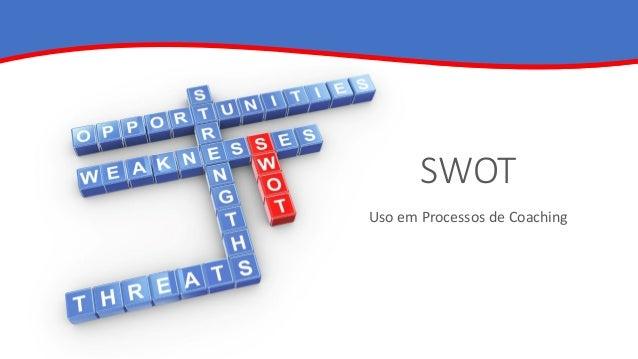 SWOT Uso em Processos de Coaching
