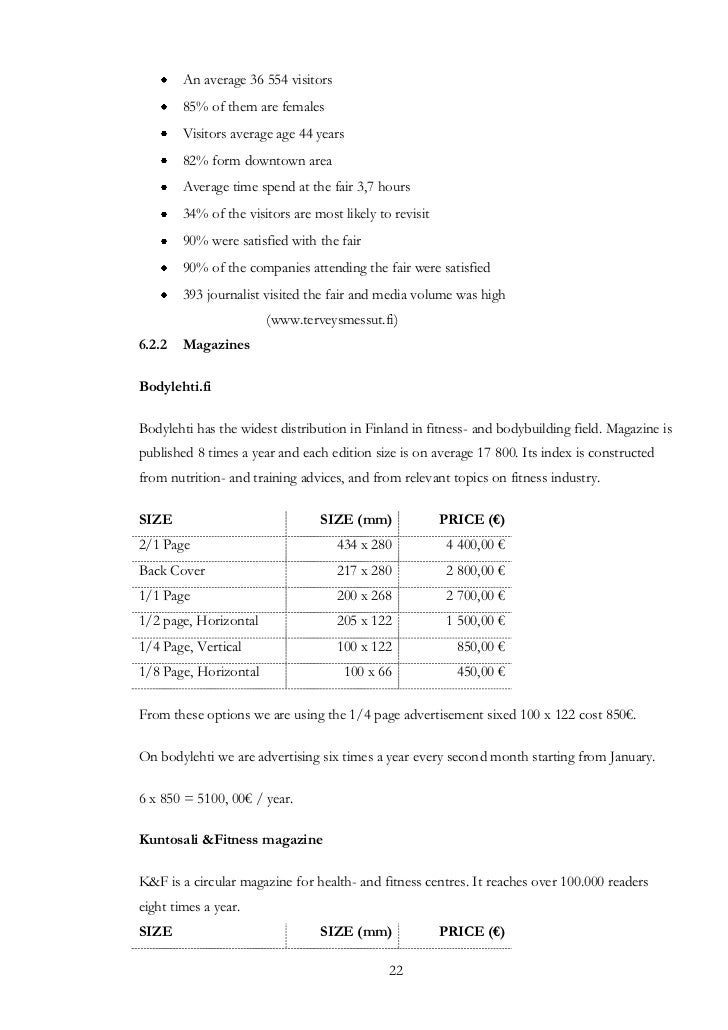 Gym Contract Template Akbaeenw