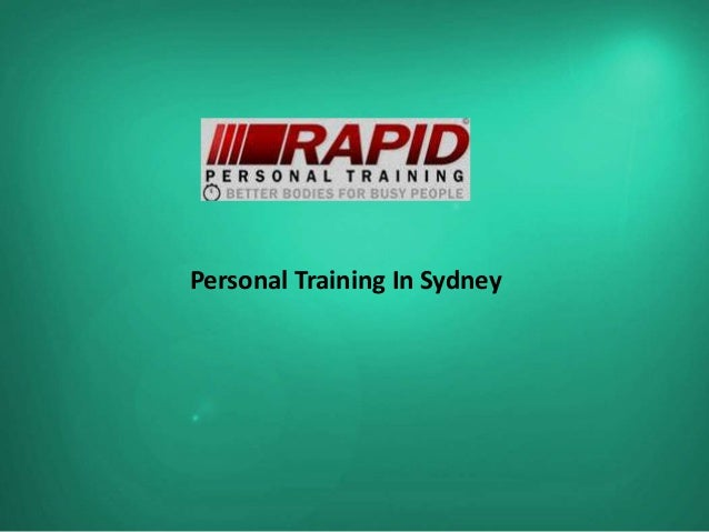 Personal Training In Sydney