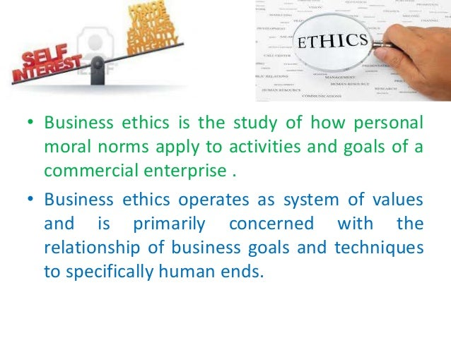 what are personal values and ethics
