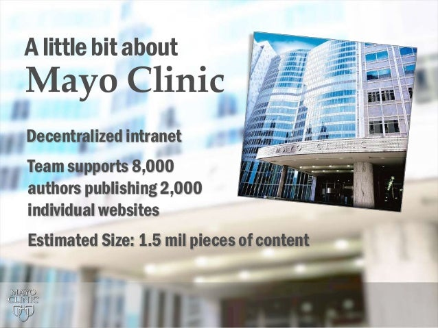 Mayo Clinic's Persona Project