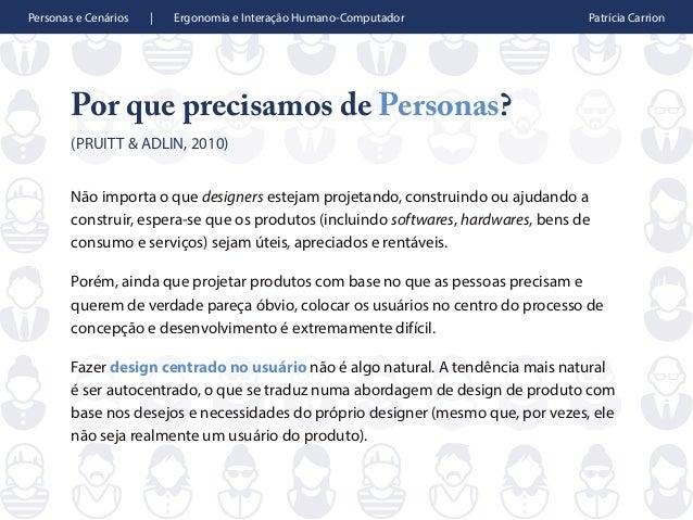 Personas e Cenários Slide 2