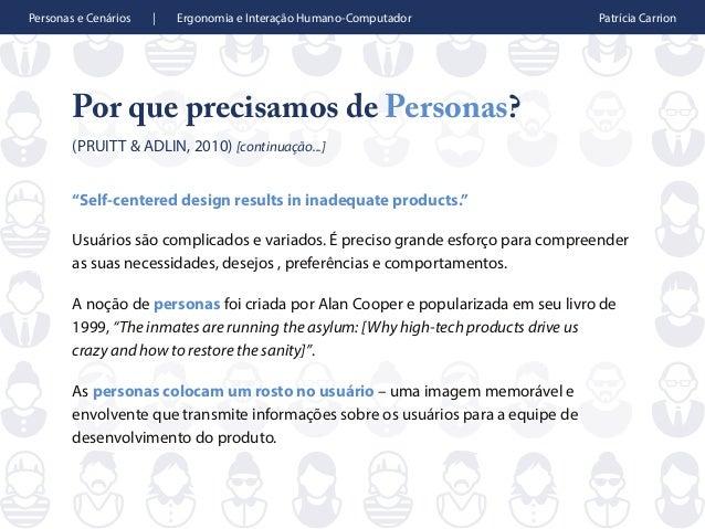 Personas e Cenários Slide 3