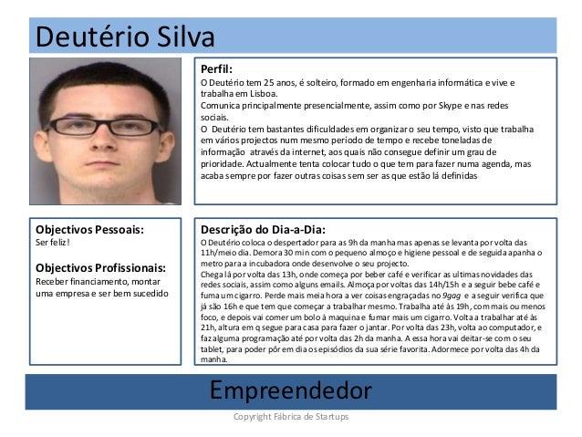 Deutério Silva(Foto)Perfil:O Deutério tem 25 anos, é solteiro, formado em engenharia informática e vive etrabalha em Lisbo...