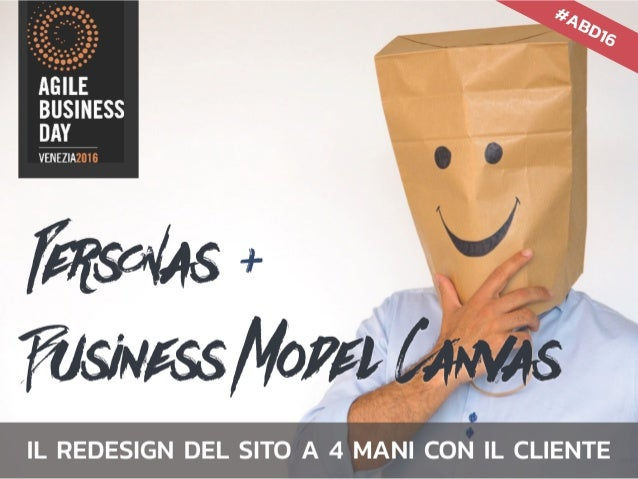 la figura che spiega tutto … BUSINESS MODEL CANVAS