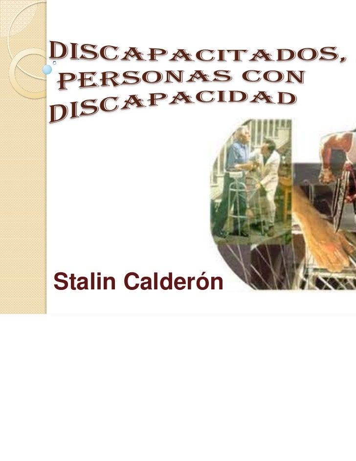 Stalin Calderón