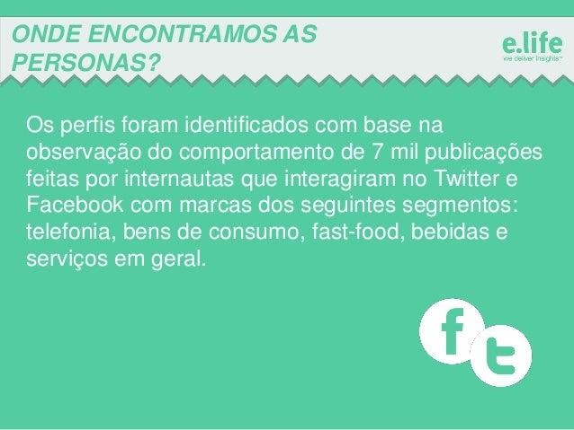 Personas - Quem fala com as marcas nas redes sociais? Slide 3