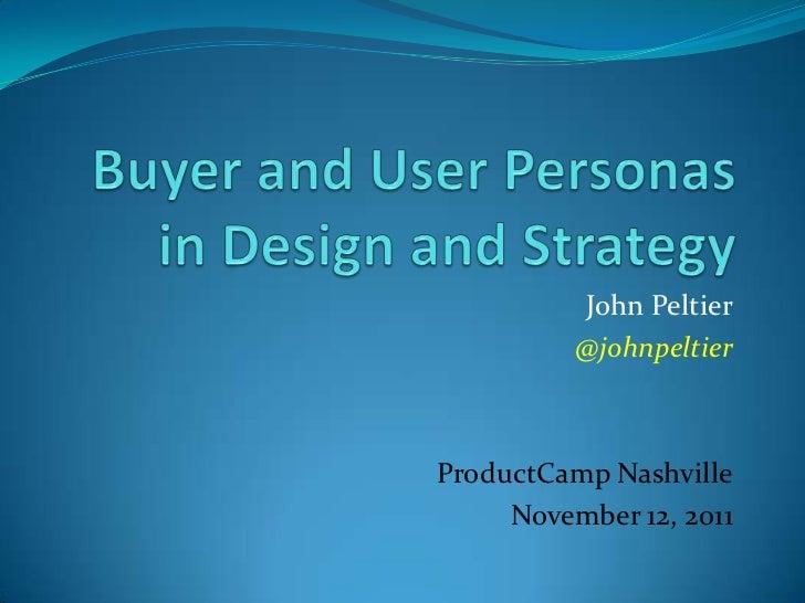 John Peltier          @johnpeltierProductCamp Nashville     November 12, 2011