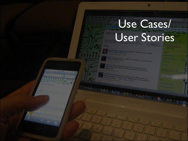 Use Cases/ User Stories