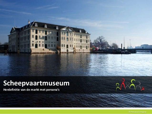© Persona Company Scheepvaartmuseum Herdefinitie van de markt met persona's