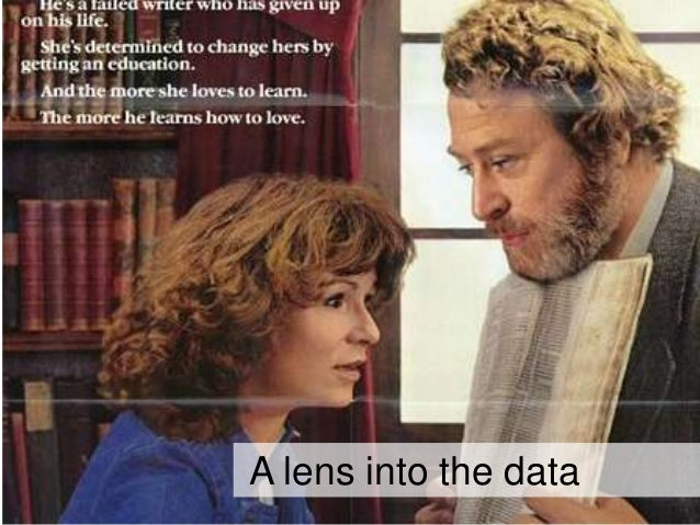 A lens into the data
