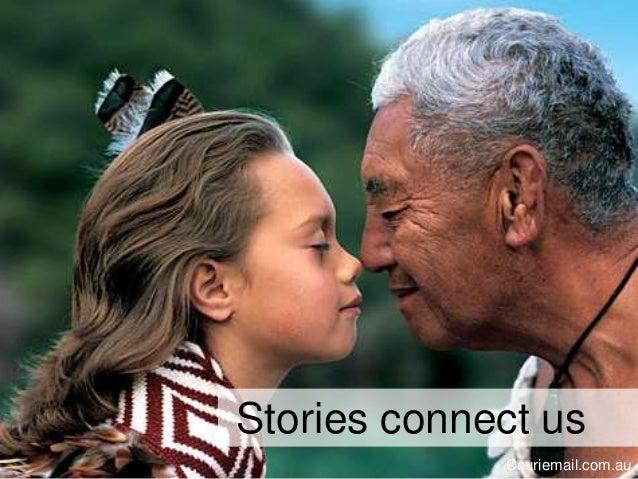 Stories connect us Couriemail.com.au
