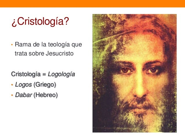 Introducción a la Cristología Slide 3