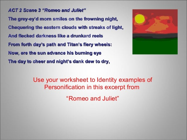 personification ppt carecarekeep watchkeep watch 5 use your worksheet to identity examples of personification
