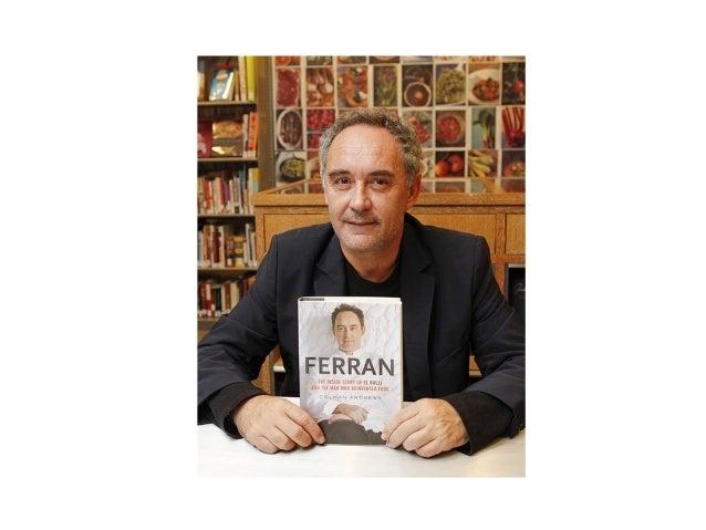 Ferran Adrià. 50 ans. Cuisinier et chef de cuisine. Espagne.  Restaurant: El Bulli (plage de Monjoi, à Roses, Gérone).  3 ...