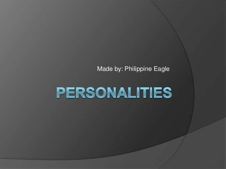 Made by: Philippine Eagle