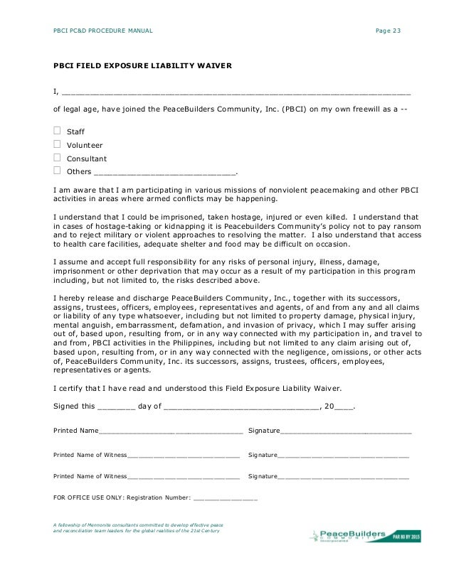 For Bdsm personal injury waiver
