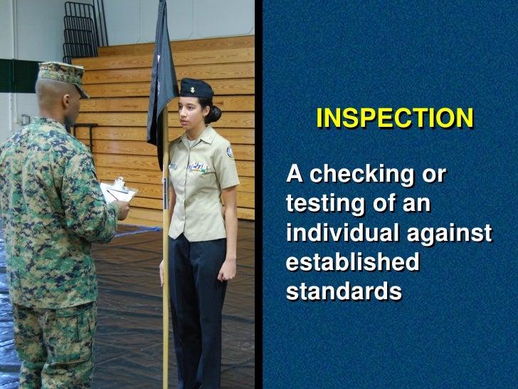 NS1 Personnel Inspection Slide 2