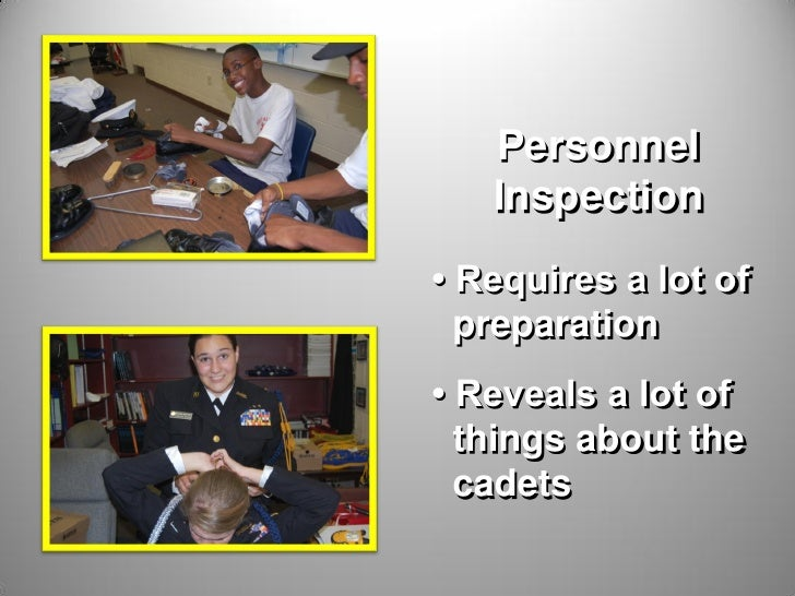 NS1 Personnel Inspection Slide 3