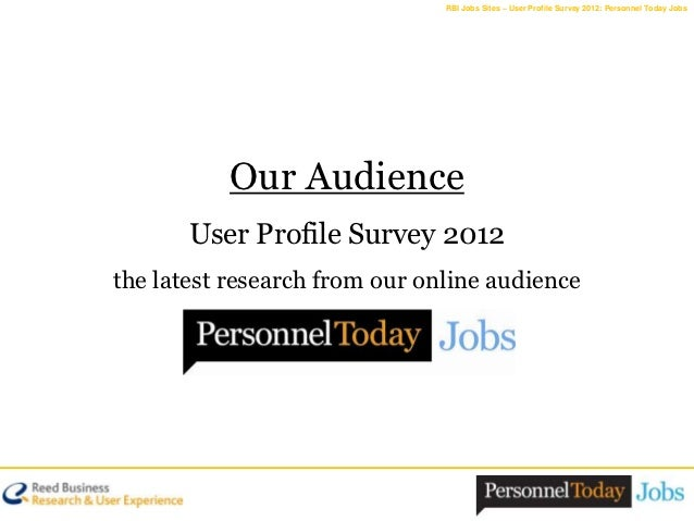 Personnel Today Jobs: Our Audience