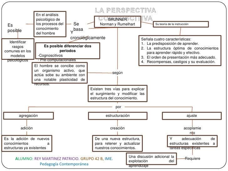 LA PERSPECTIVA COGNOSCITIVA<br />En el análisis psicológico de los procesos del conocimiento del hombre<br />BRUNNER<br />...