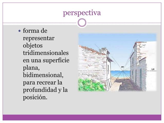 Las tres perspectivas mas utilizadas en dibujo: