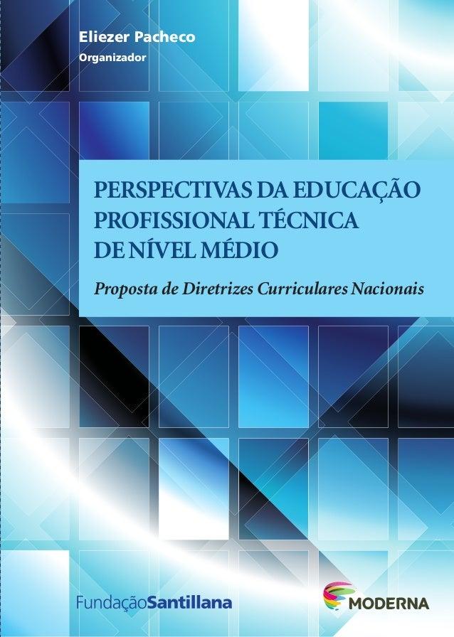PERSPECTIVASDAEDUCAÇÃO PROFISSIONALTÉCNICA DENÍVELMÉDIO Proposta de Diretrizes Curriculares Nacionais PERSPECTIVASDAEDUCAÇ...