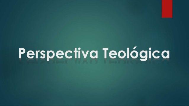 Perspectiva Teológica