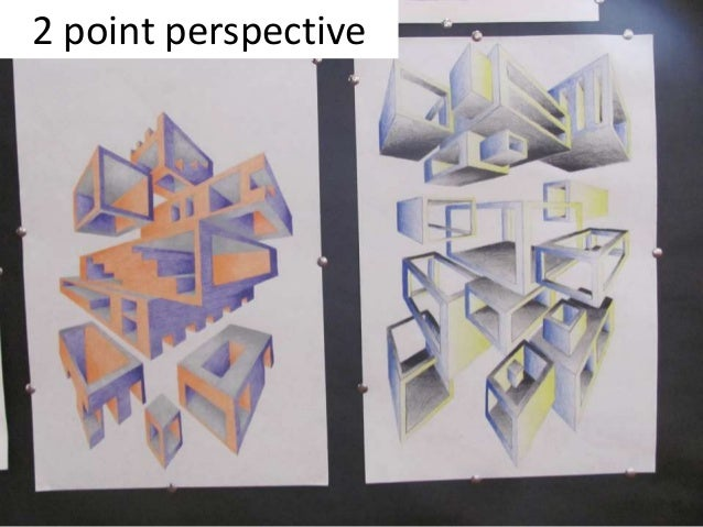 Visual Art Perspective Warm Up S Projects