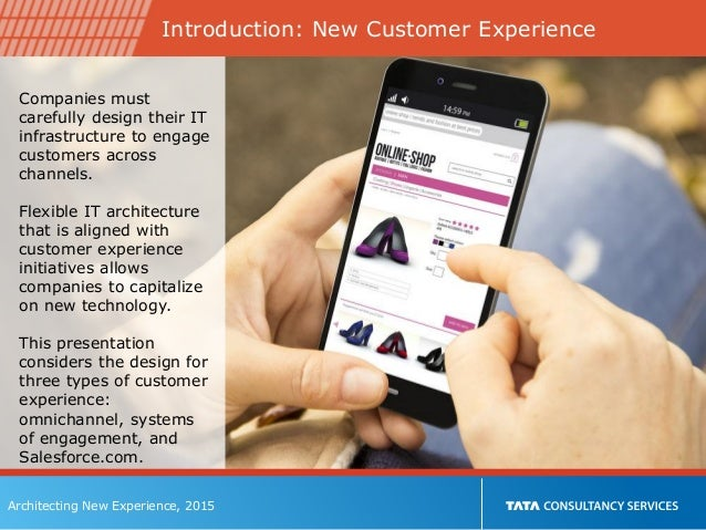 Architecting the New Customer Experience Slide 2