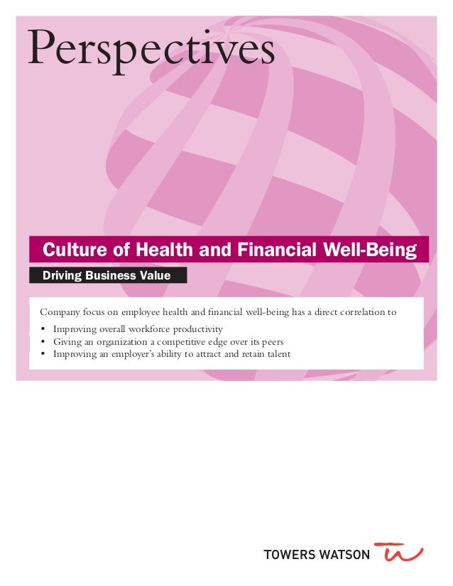Headline copy here 27pt white on color		 	 Brand Bar: 14pt White/Black		 	 Culture of Health and Financial Well-Being		 	 ...