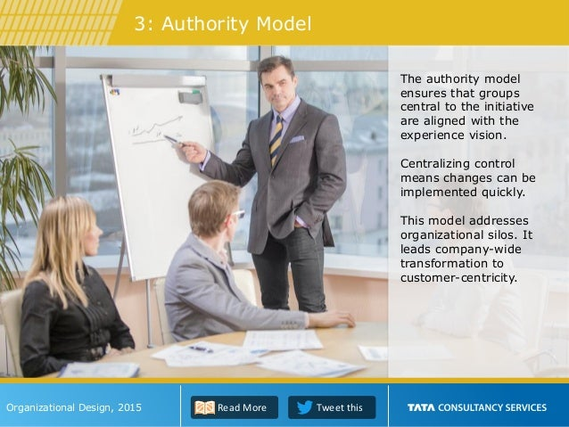 The authority model ensures that groups central to the initiative are aligned with the experience vision. Centralizing con...
