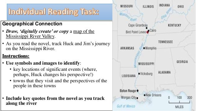 Perspectives in The Adventures of Huckleberry Finn : reading ...