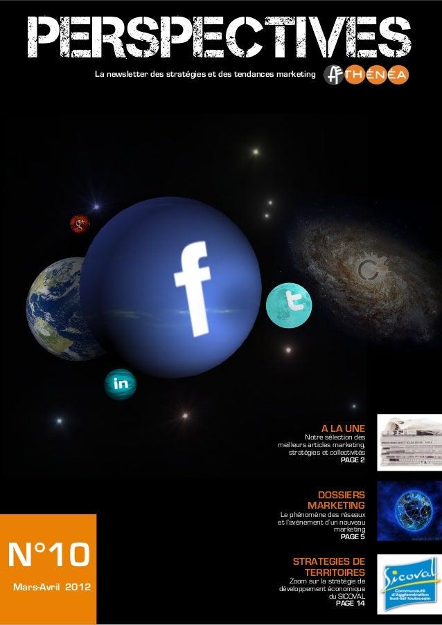 PERSPECTIVES    La newsletter des stratégies et des tendances marketing                                                   ...