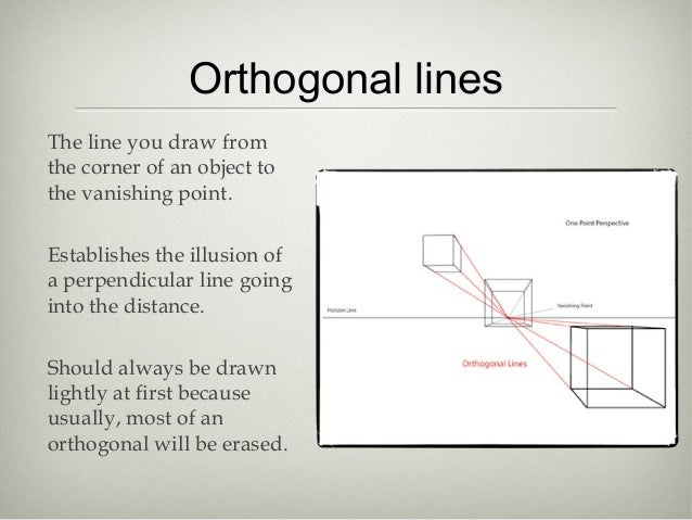 Linear Art Definition : Linear perspective