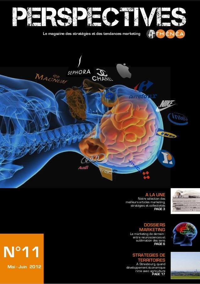 PERSPECTIVES    Le magazine des stratégies et des tendances marketing                                                     ...