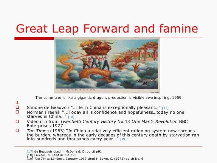 the very good step forwards china essay