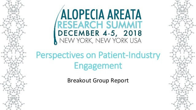 Perspectives on Patient-Industry Engagement Breakout Group Report