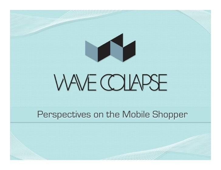 Perspectives on the Mobile Shopper