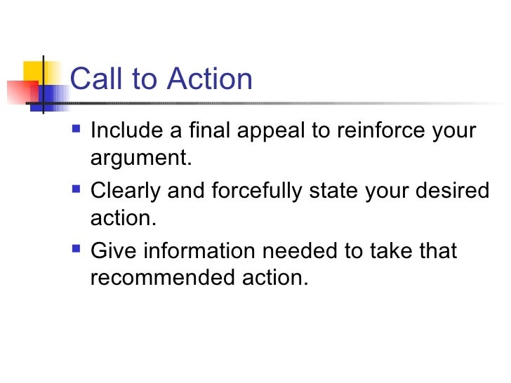 call to action argument essay How to end an argumentative essay conclusion a call to action in your argumentative essay is a prompt to your readers that tells them to make an immediate action.